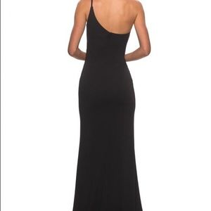 La Femme 28176 black prom dress